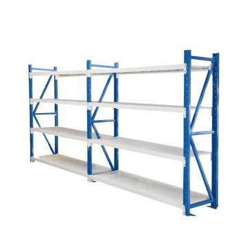 Commercial Q235 Steel Plate Wide Span Shelving Food Industrial Storage