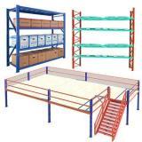 Heavybao Industrial Warehouse Storage Steel Metal Rack Metal Boltless Shelving